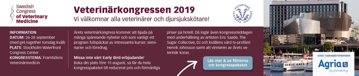 Kongress Svenska veterinärförbundet