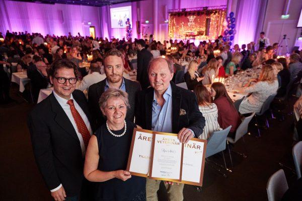 Björn Åblad är Årets Veterinär 2017