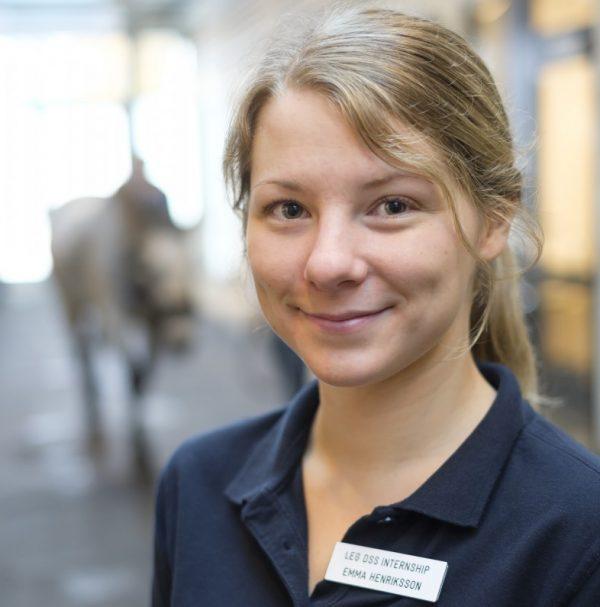Emma Henriksson gör internship på UDS