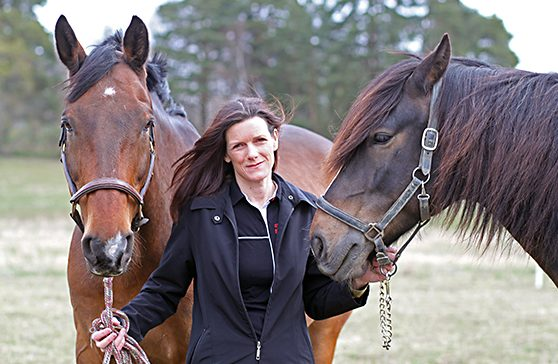 Gittan Gröndahl får pris för hästforskning