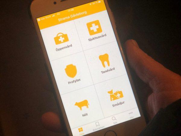 Distriktsveterinärerna uppdaterar Strama-appen
