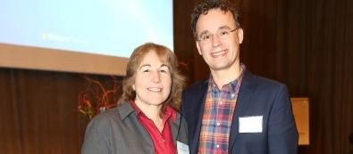 Bert-Jan Reetzig och Nancy Shaffran