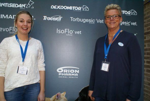 Carolina Carlholm och Andrea Boltes Svedberg, Orion Pharma