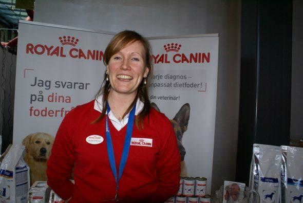 Annika Eriksson, Royal Canin.