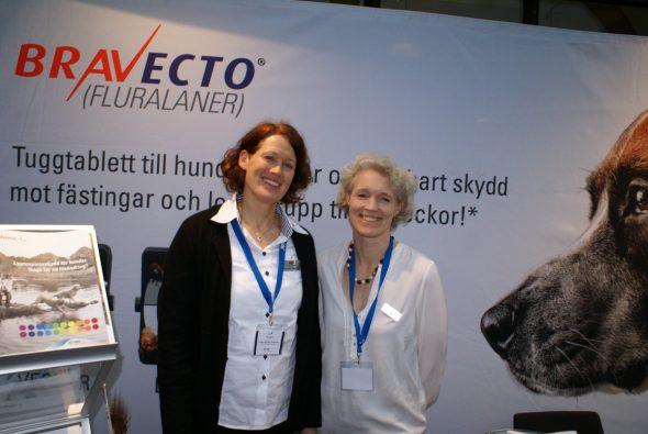 Mette Krogh och Heike Köhler-Aanesen, MSD Animal Health.