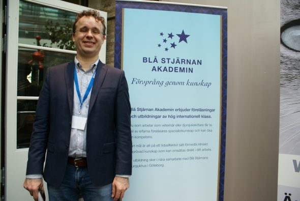 Bert-Jan Reetzig, forskningschef på Blå Stjärnan.
