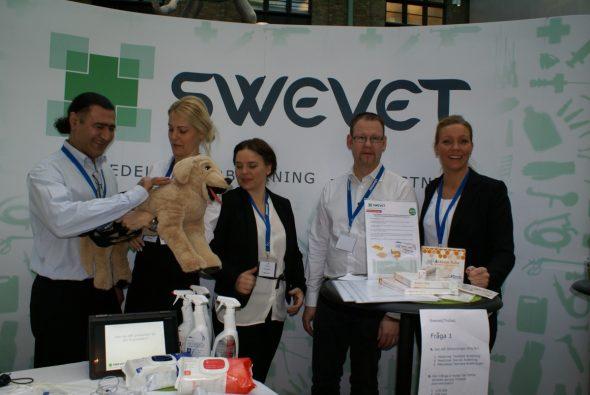 Mortaza Mortazavi, Rebecka Elmrin, Ida Valentin, Jessica Lamén och Andreas Olred från Swevet.