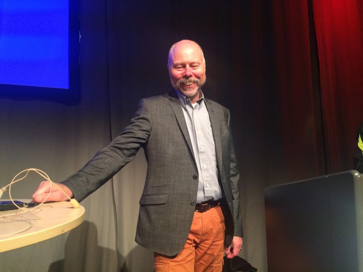 """Ole Frykman på Rehabdagen: """"Det behövs mer evidens inom rehab"""""""