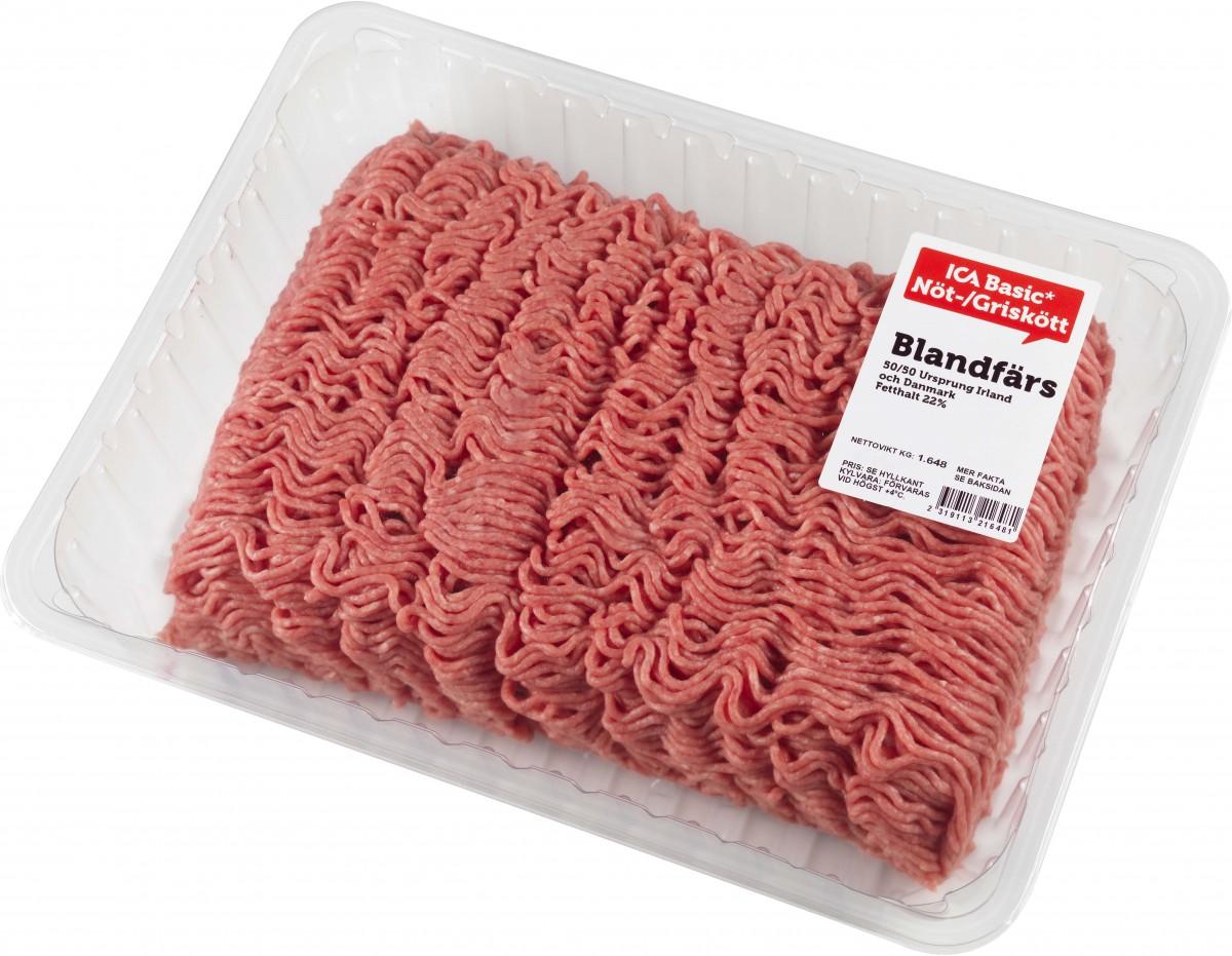 ICA fann salmonella i köttfärs