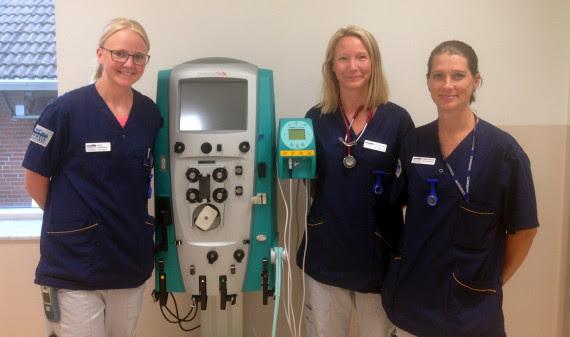 Helsingborg börjar med hemodialys